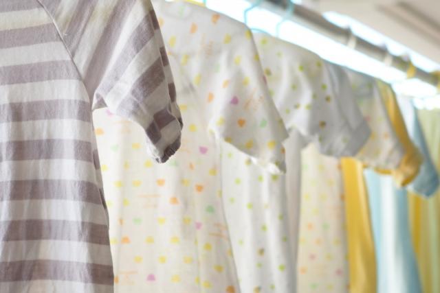 子供服の洗濯